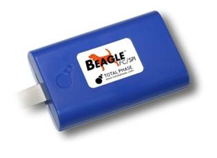 Beagle IC2/SPI Protocol Analyzer supports filter data captures options