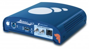 Beagle USB Protocol Analyzers support LPM transactions at various speeds