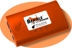 Beagle 480 Power Protocol Analyzer for Power Measure and Triggering Capabilities