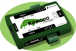 Using the Komodo CAN Duo Interface and API software to analyze and filter CAN data.