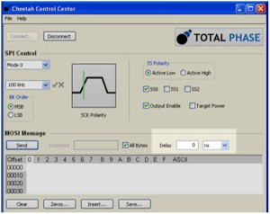 How to configure data transfer delay using Cheetah GUI