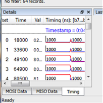 Data Center Software - view timing details