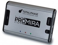 Promira Serial Platform supports eSPI Master operations