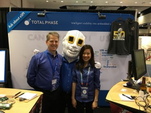 Me and Annie with Chiphead at DesignCon 2016, Santa Clara