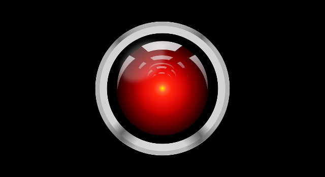 Image of HAL 9000 from A Space Odyssey to represent Artificial Intelligence