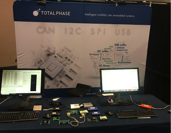 Total Phase at DesignCon 2019