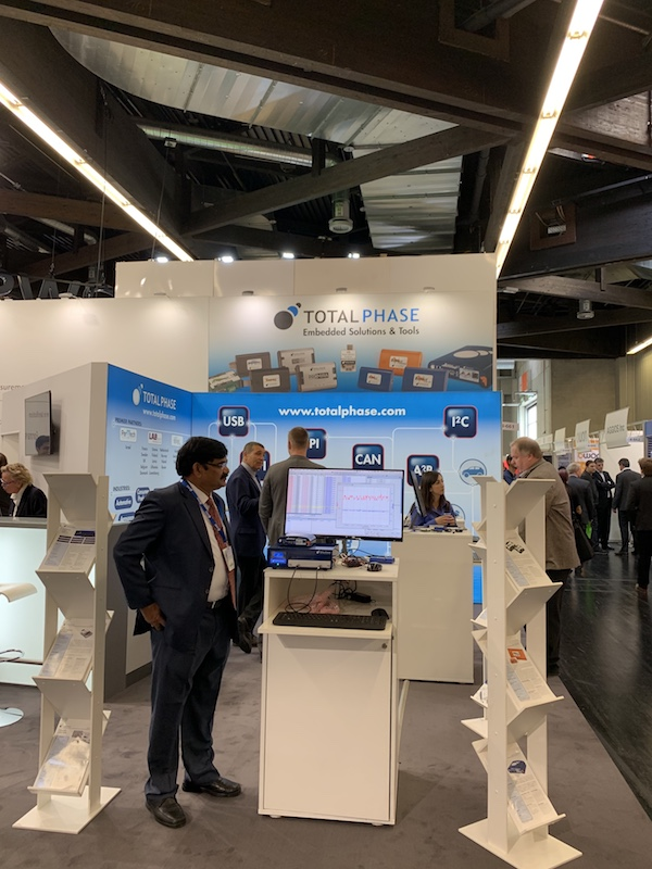 Total Phase at Embedded World 2019