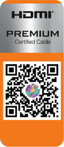 Premium HDMI Cable Certification allows adopters to place a logo on HDMI product, confirming compliance to end users.
