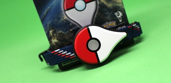 Pokemon Go Plus Bracelet with MEMS