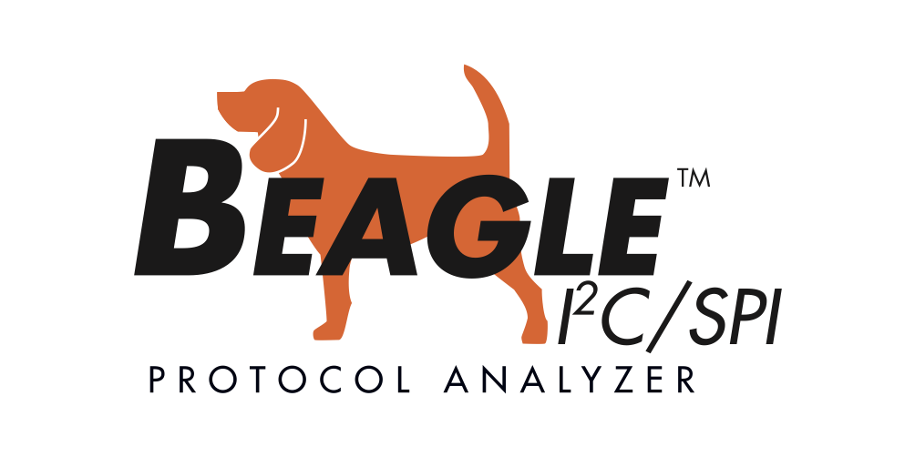 Graphic of Beagle I2C/SPI Protocol Analyzer logo