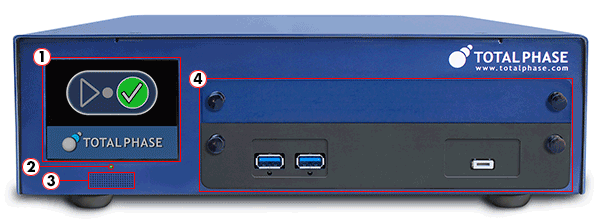 Advanced Cable Tester v2 Hardware - Front