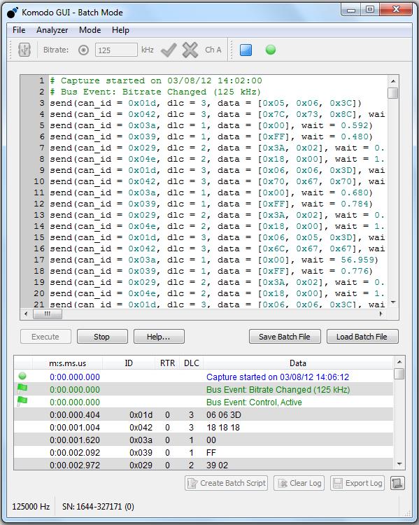 Komodo GUI Software User Manual – Total Phase