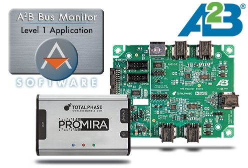 A2B Bus Monitor User Manual – Total Phase
