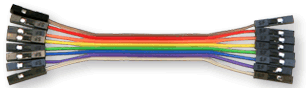 8-Pin Ribbon Cable
