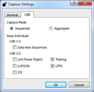 Data Center Capture Settings