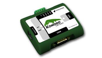 Komodo CAN interface for Canbus