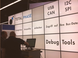 Total Phase at Embedded World