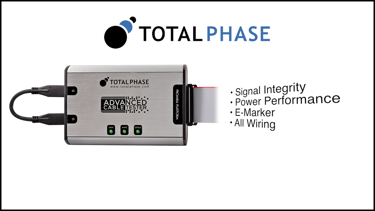 Total Phase Advanced Cable Tester - Intro thumbnail