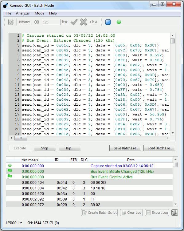 Komodo GUI Software - Total Phase