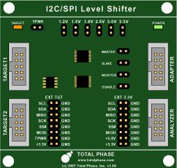 Level Shifter Board Schematic