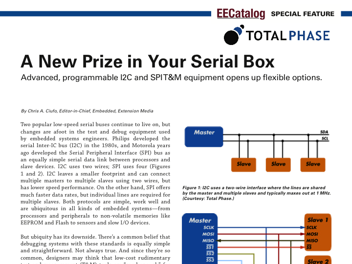 A New Prize in Your Serial Box